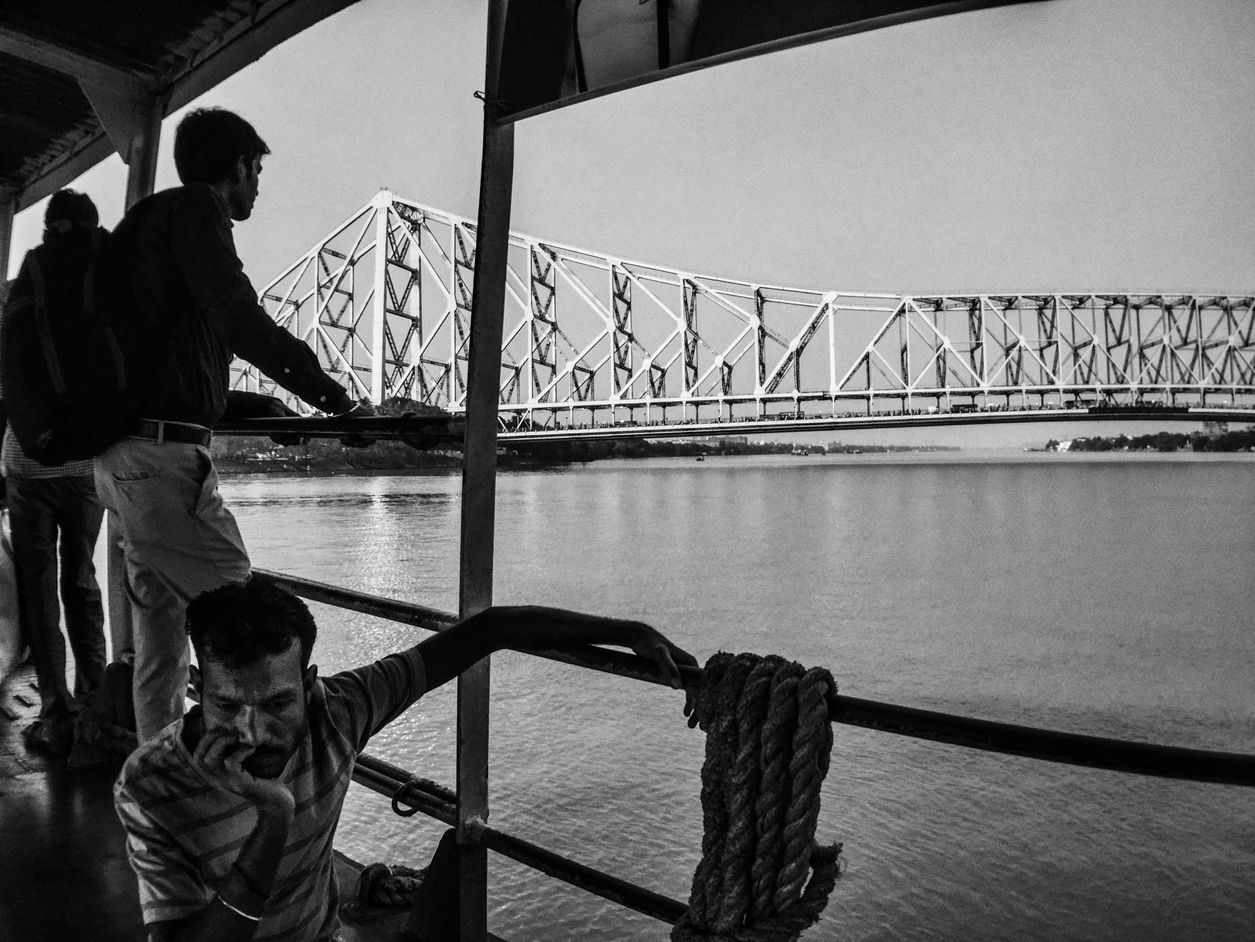 The classic ferry ride across the Hoogly RIver in Kolkata. Shot on iPhone 6 with the IMVIO Wide lens.