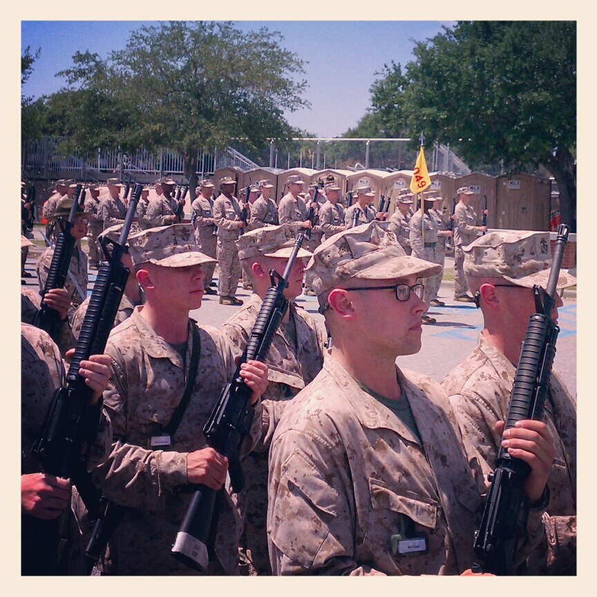 Marines in the making.
