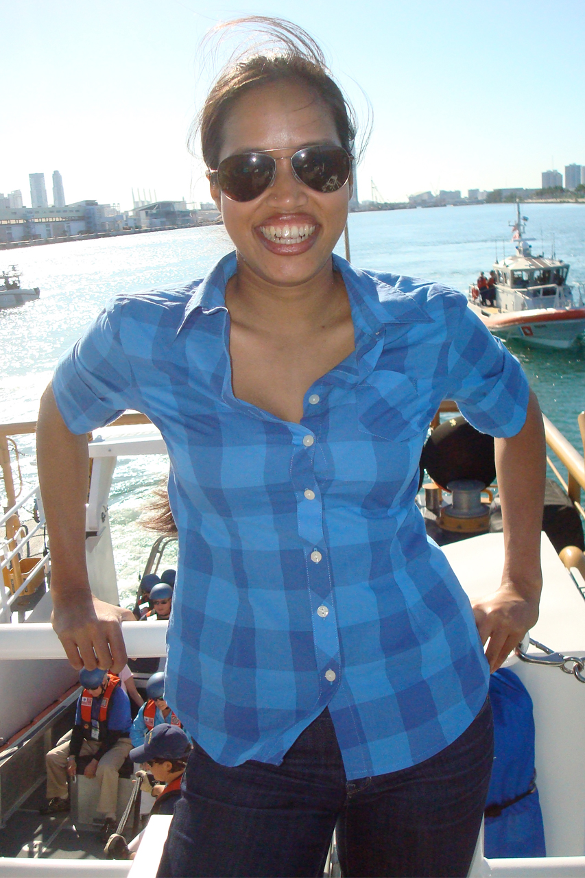 Silly #2: Sailing w/the Coasties (US Coast Guard)