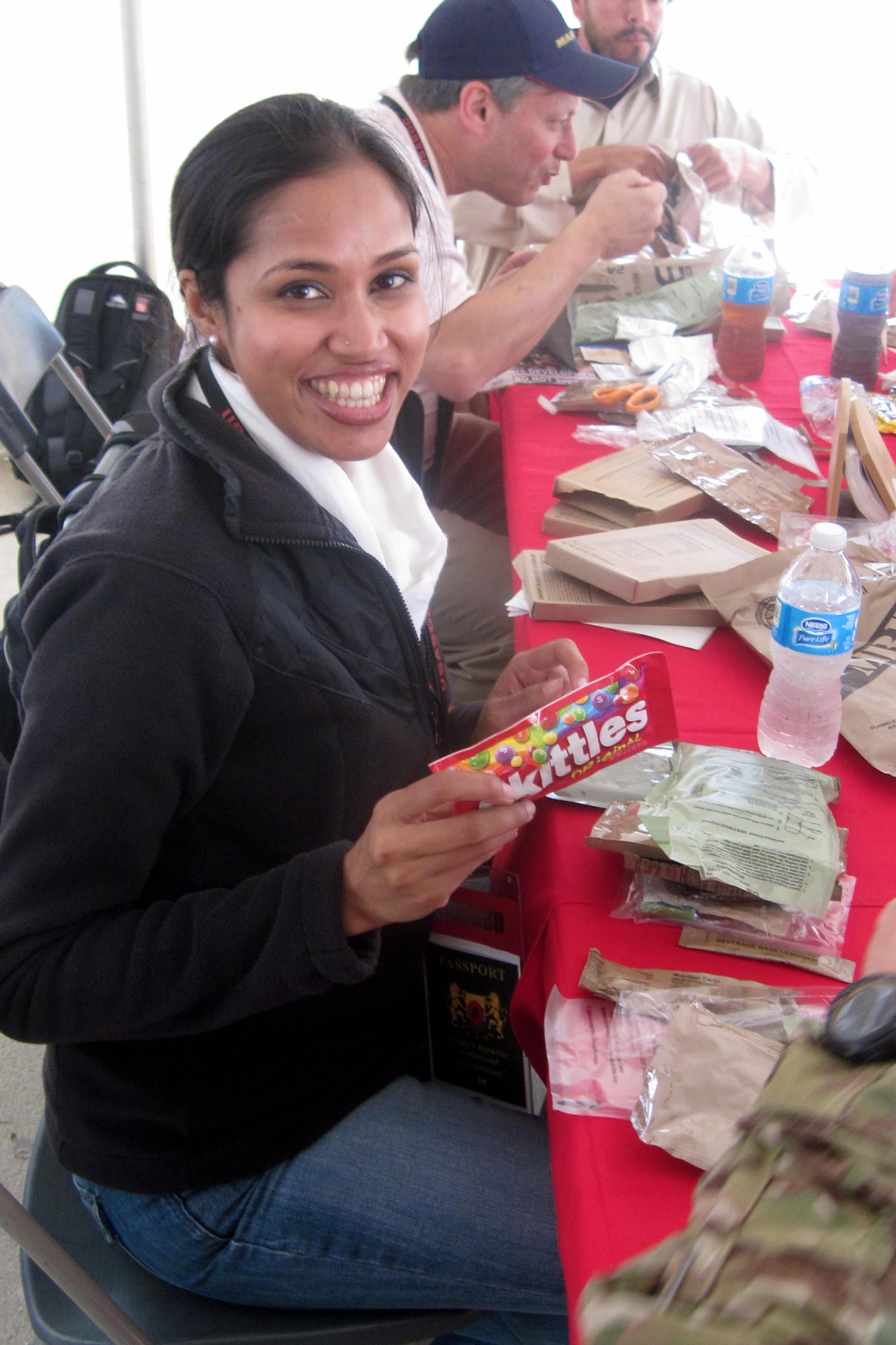 Silly #4: 'I got Skittles in my MRE!' (USASOC)
