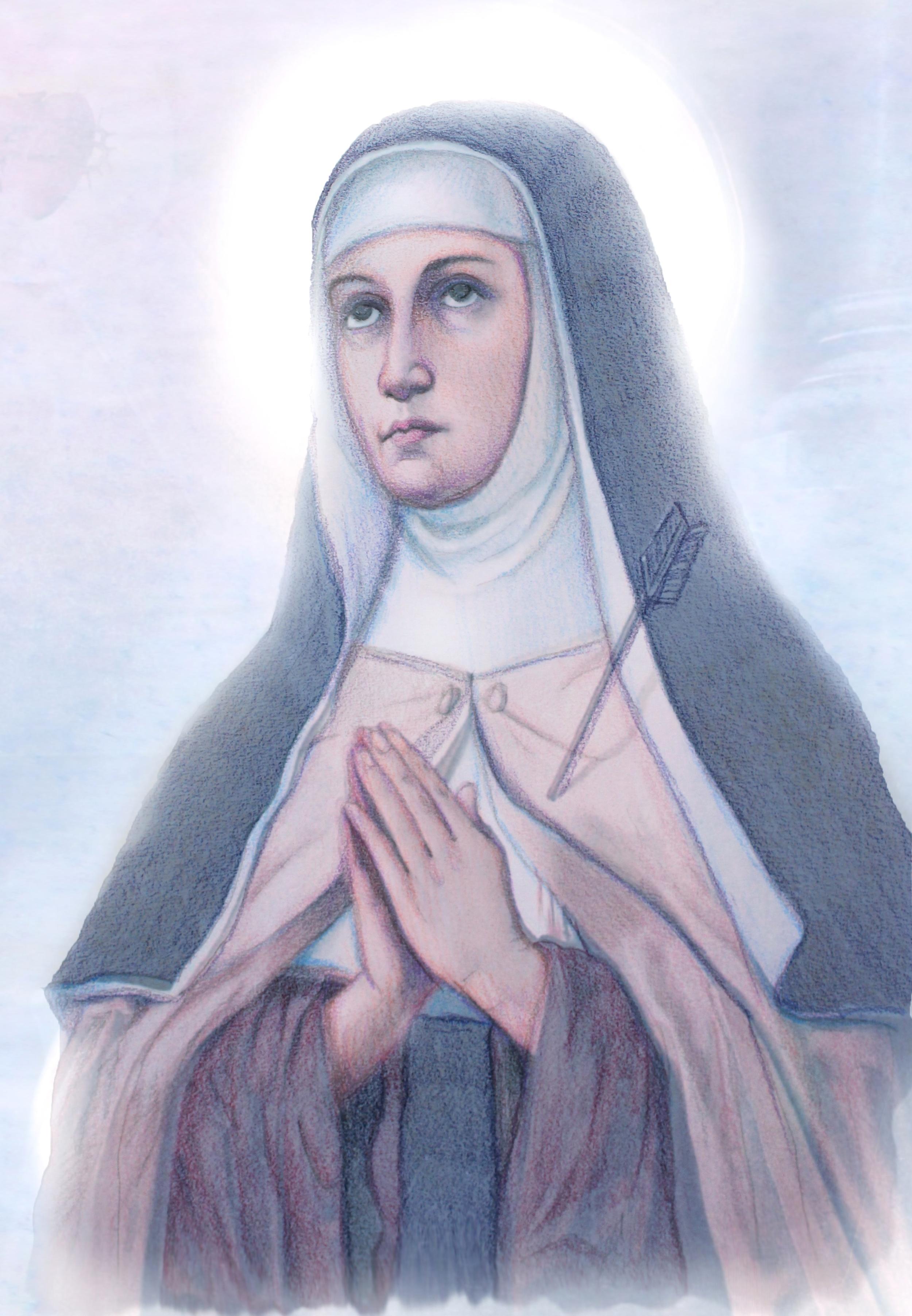 St. Teresa of Avila Copyright @ LeadustoHeaven