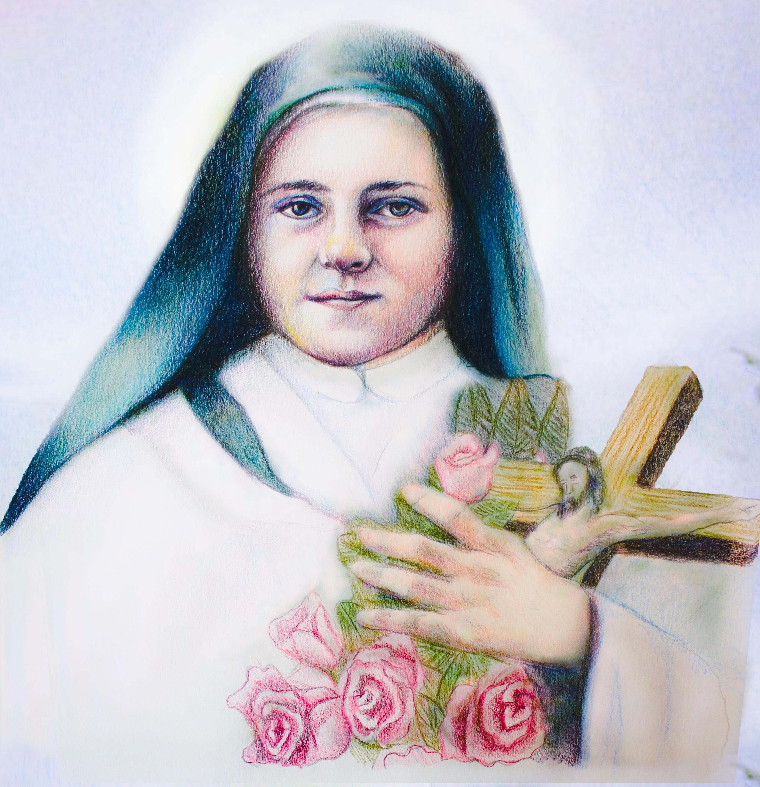 St. Therese of Lisieux Copyright @ LeadustoHeaven