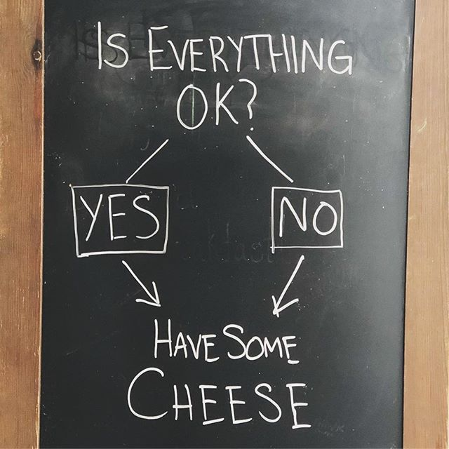 Have some #cheese. . . . . #LifeLessons @bedfordcheeseshop #nyc #EveryLittleThingIsGonnaBeAlright