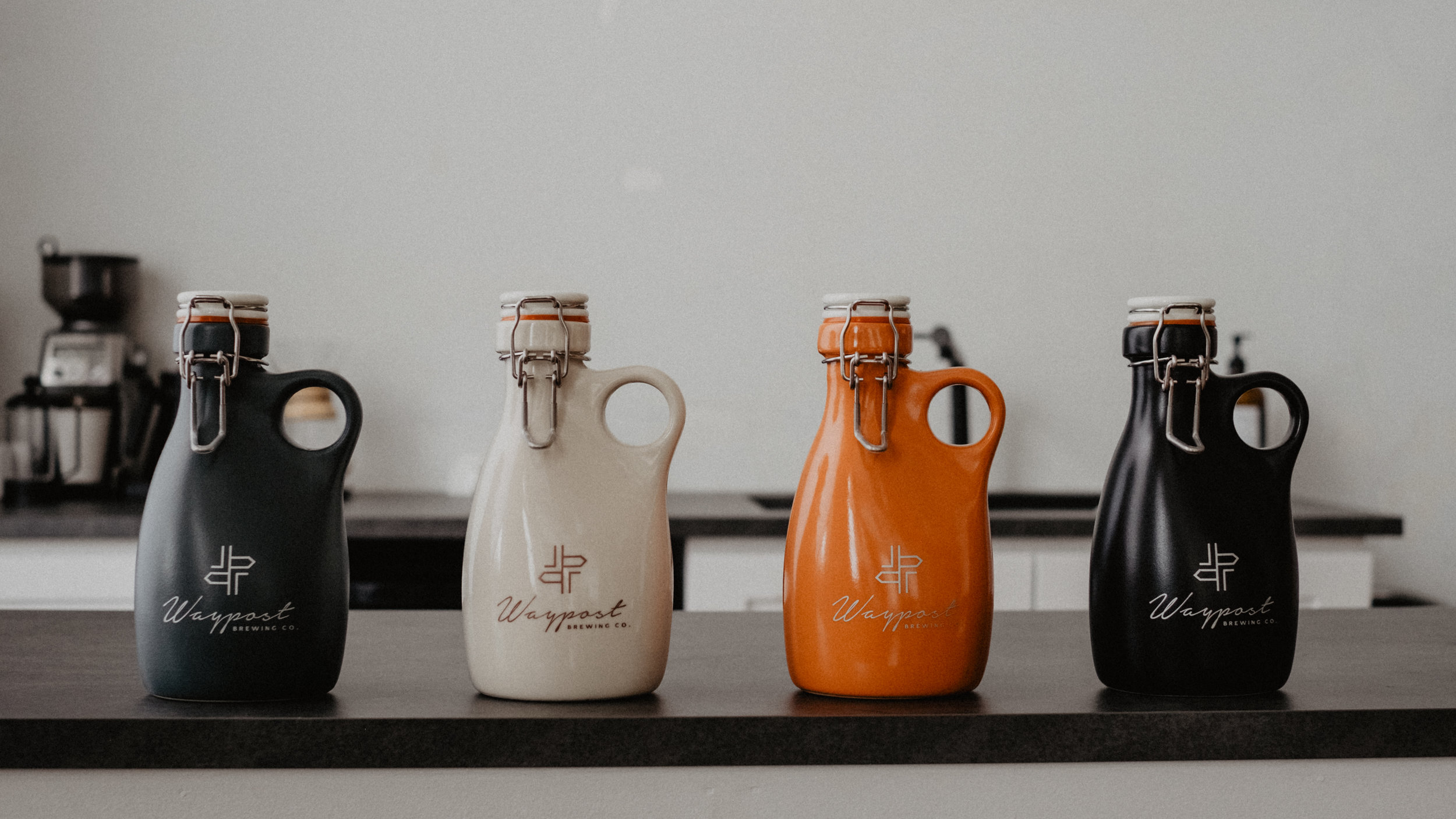 This is an impressive lineup of Orange Vessels.