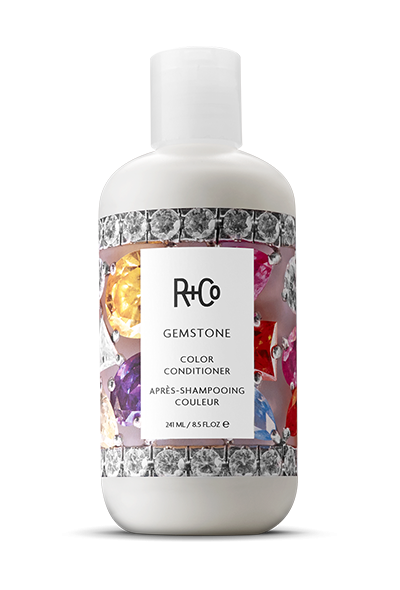 <b> GEMSTONE </b> </br> Color Conditioner <br> <i> Protects and Preserves All Hair Tones</i></br> <br> <i> $25.</i></br>