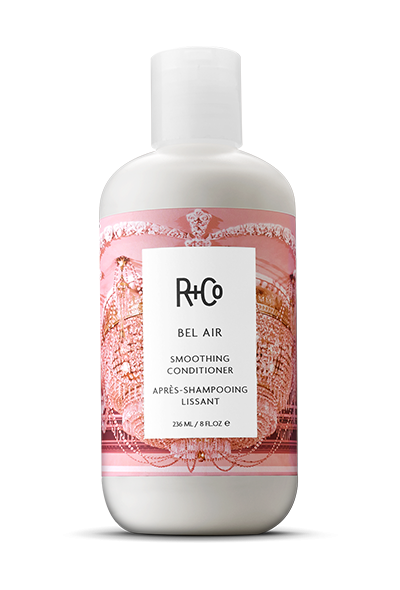 <b> BEL AIR </b> </br> Smoothing Conditioner <br> <i> For Even Smoother, Sleeker Hair</i></br> <br> <i> $25.</i></br>