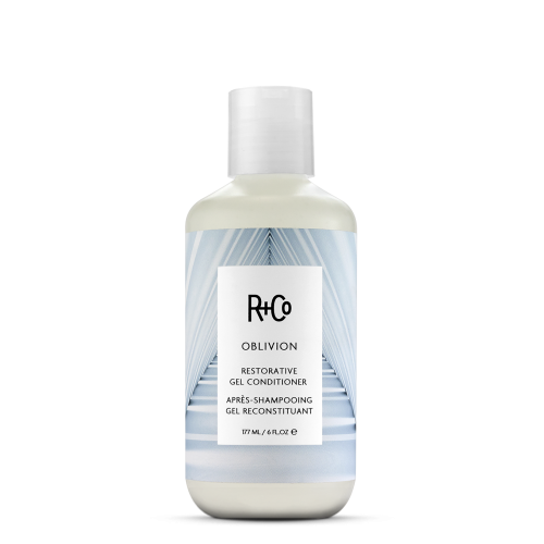 <b>OBLIVION</b></br> Clarifying Shampoo</br> <i>A Gentle But Thorough Cleaner Takes Your<br> Hair To It's Cleanest Place </br> $25.</br></i>