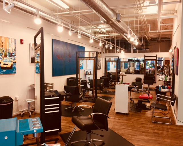 The best hair salon in Asheville NC - Studio Chavarria