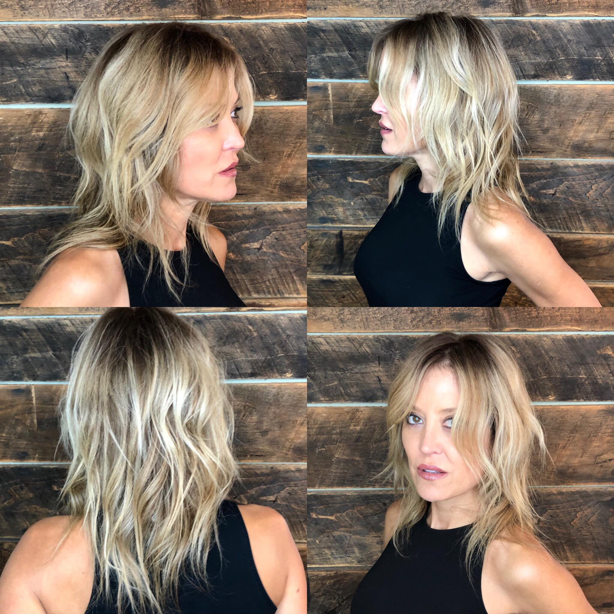 Hair by Guadalupe of Studio Chavarria, Asheville N.C.