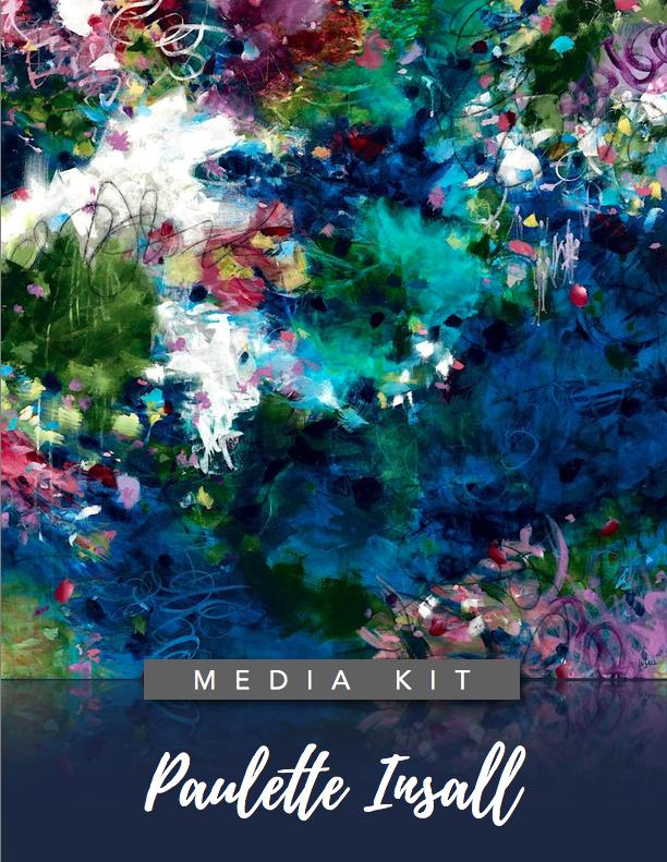 Paulette Insall Artist media kit Portland, Oregon