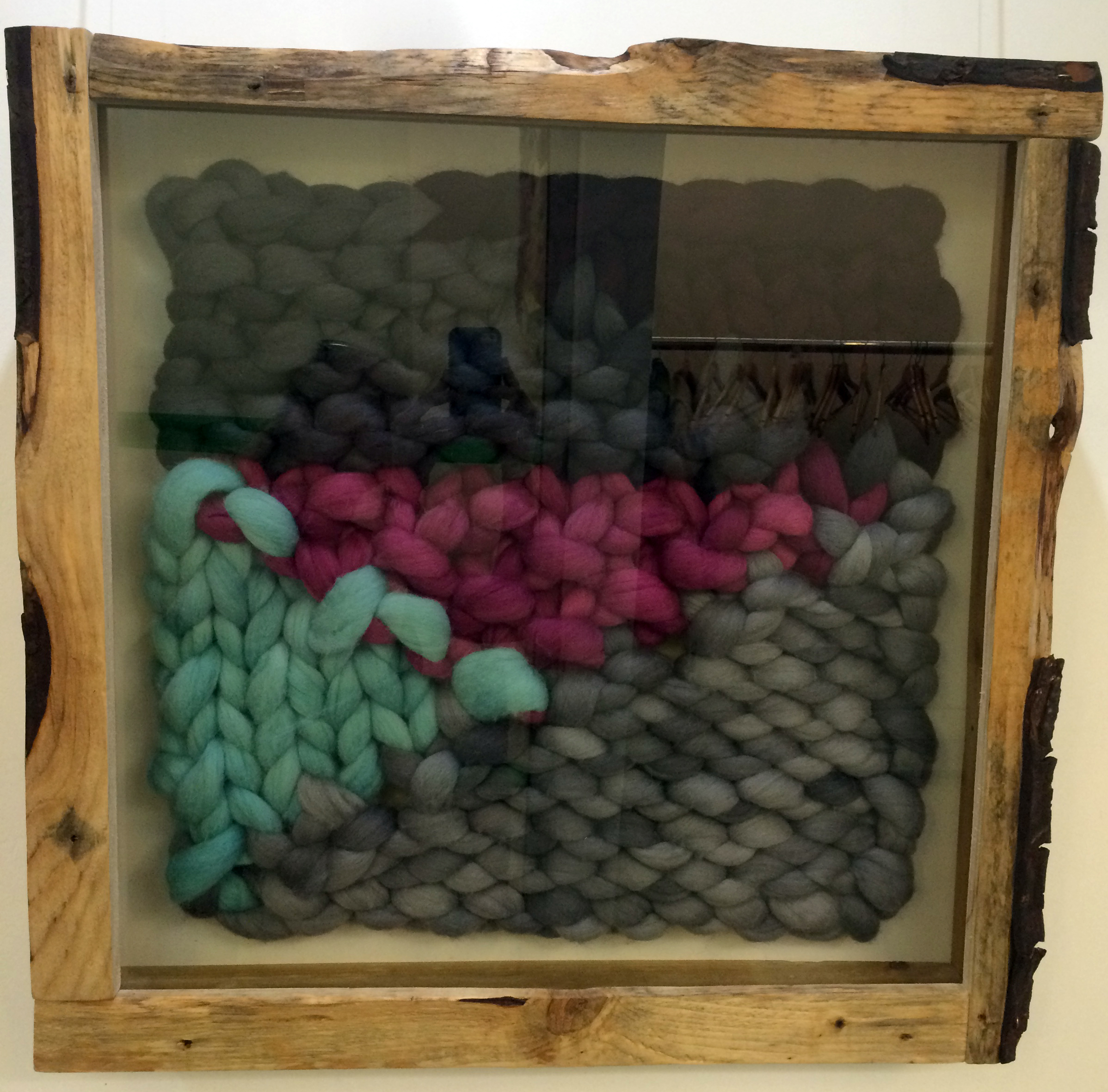 Framed Knit #1 by Sophie Adamson