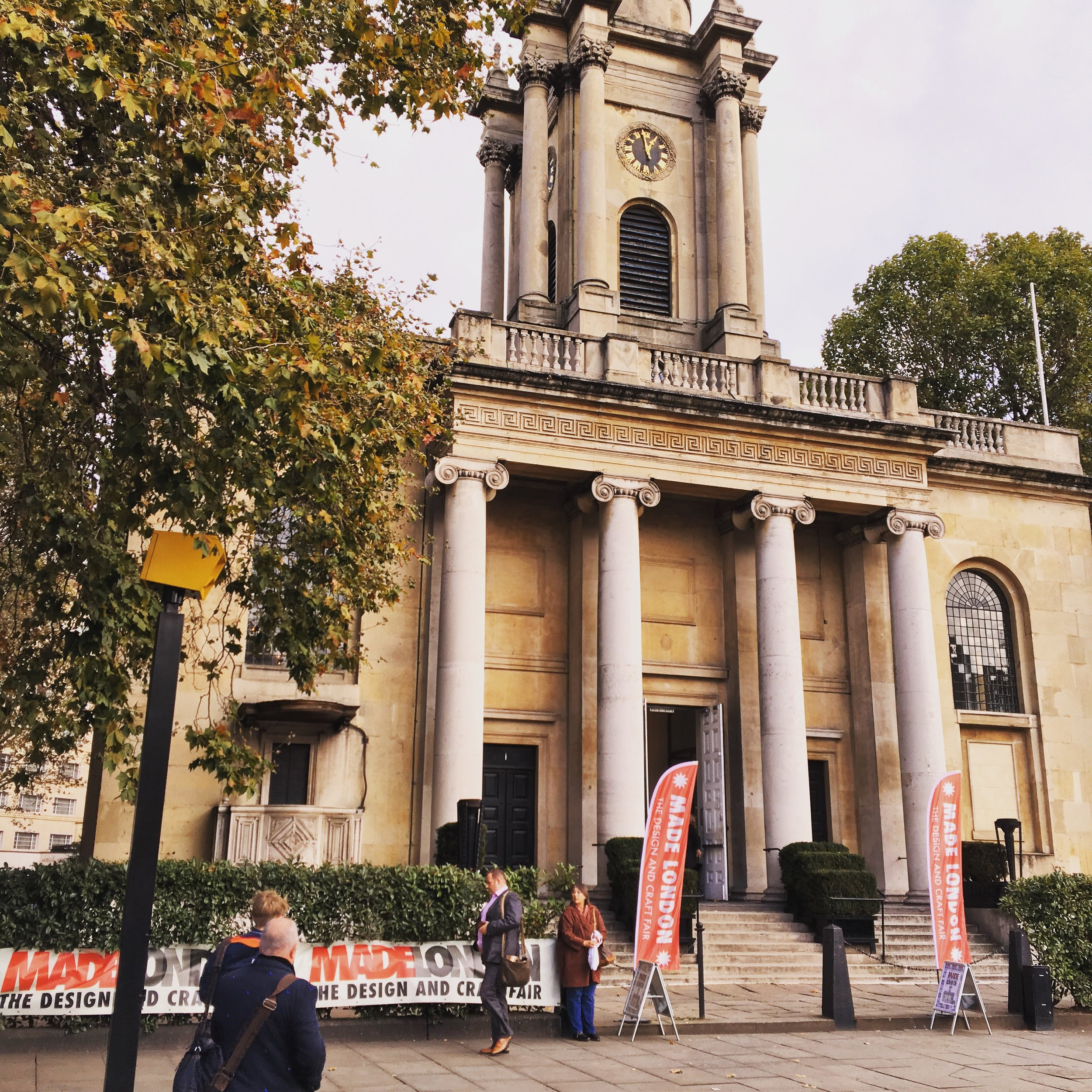 The fantastic Sir John Soane designed venue, conveniently located opposite Great Portland Street tube station