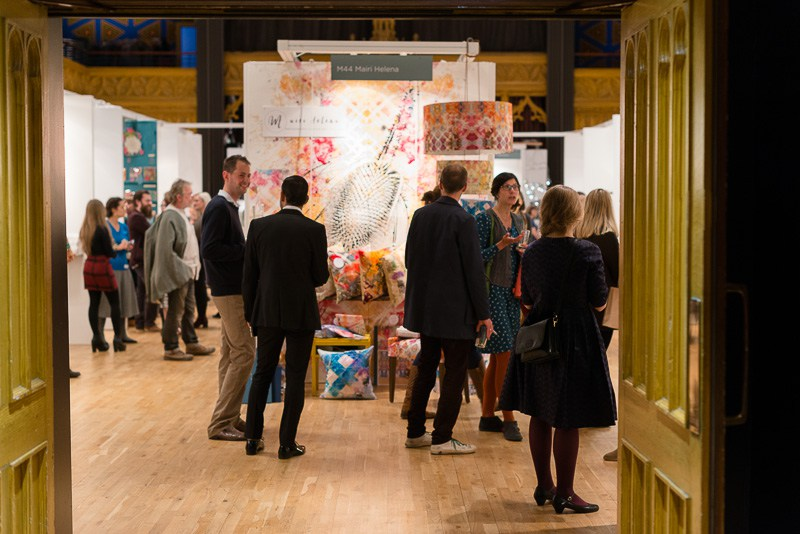 A shot of last year's show in the stunning Hub venue on Edinburgh's Royal Mile