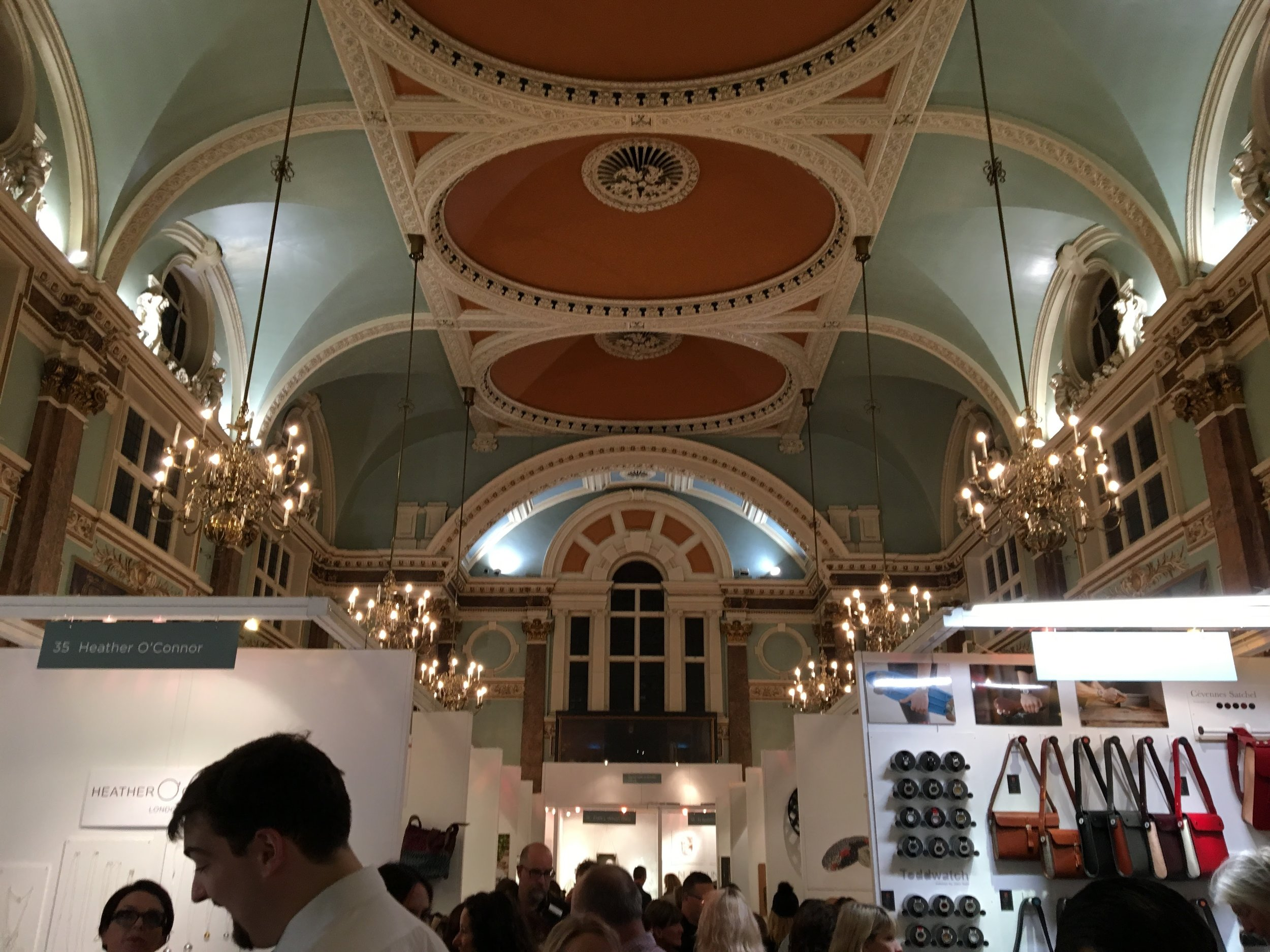 Handmade in Britain at Old Chelsea Town Hall, 2016