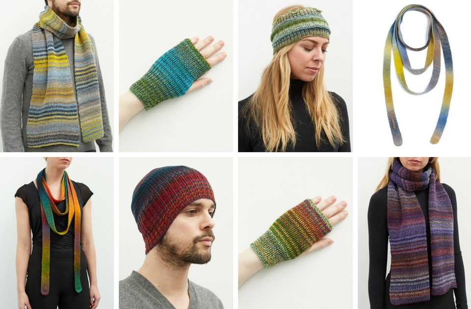 Some of our ever popular woolen accessories for him and for her.