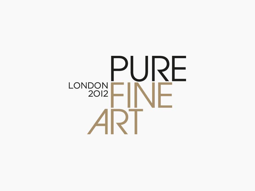 Pure Fine Art 2012 Logo design