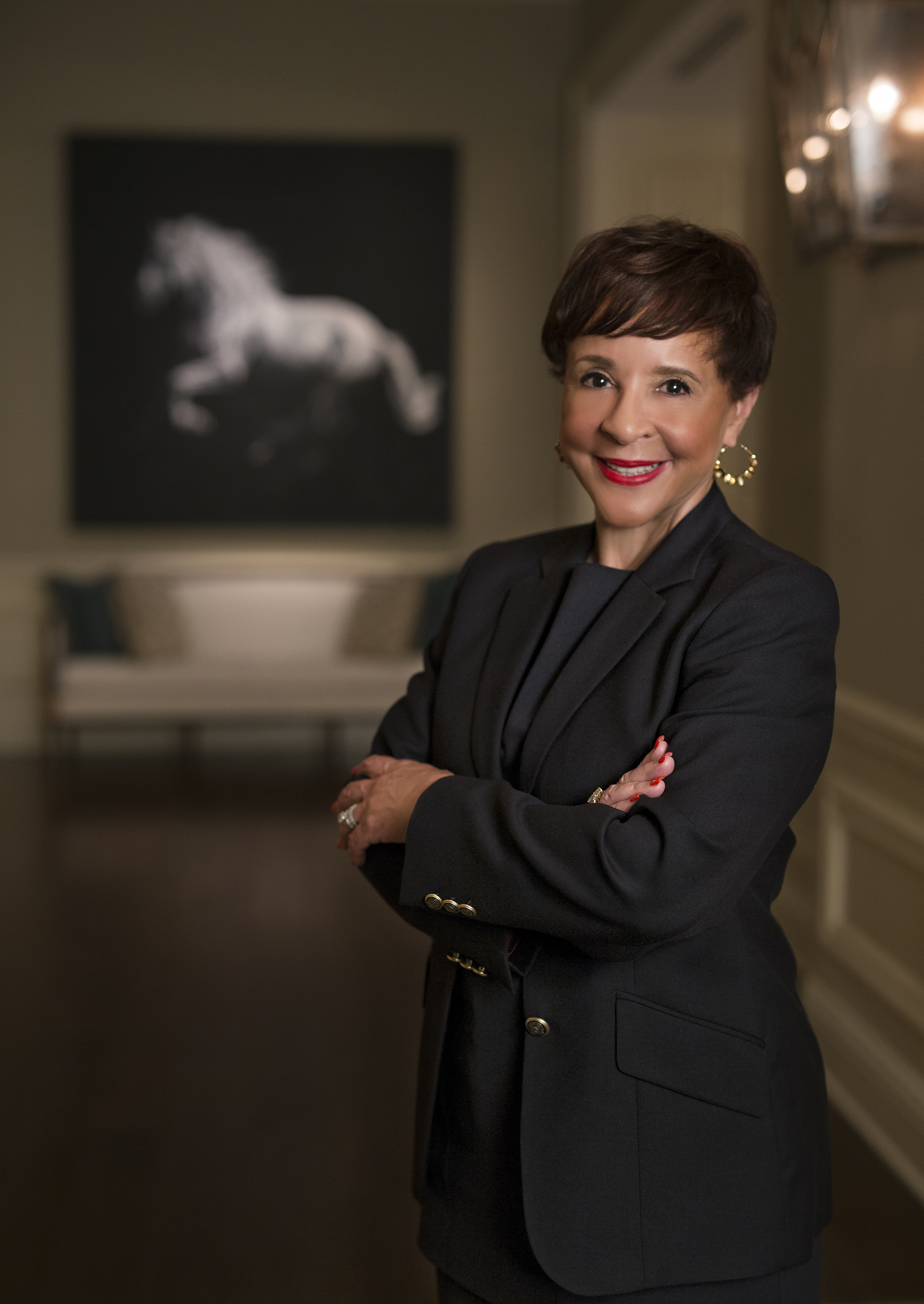 The 1st African American Female Billionaire - Sheila C. Johnson is an entrepreneur and philanthropist whose accomplishments span the arenas of hospitality, sports, TV/film, the arts, education, women's empowerment and community development.As Founder and CEO of Salamander Hotels & Resorts, Ms. Johnson oversees a growing portfolio of luxury properties in Virginia, Florida and South Carolina. The equestrian-inspired Salamander Resort & Spa in Middleburg, Virginia, has been recognized as one of the country's finest luxury properties and has been awarded the esteemed Forbes Five Star rating… Read her full bio.