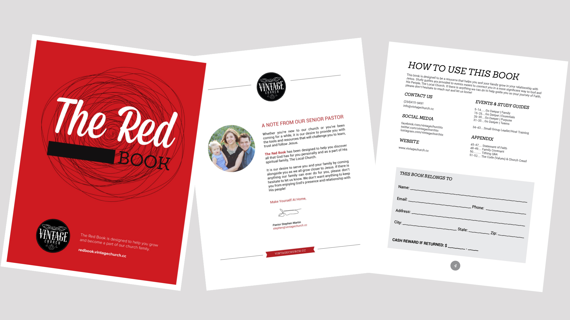 The Red Book (Growth Track Study Guides)