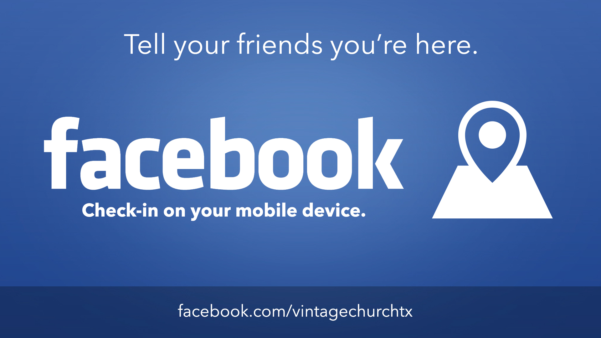 Check In On Facebook