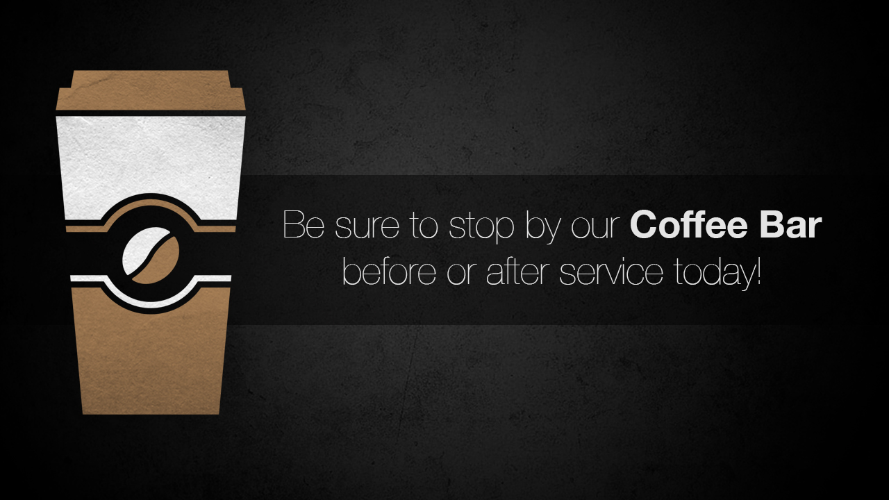 Coffee Bar Slide