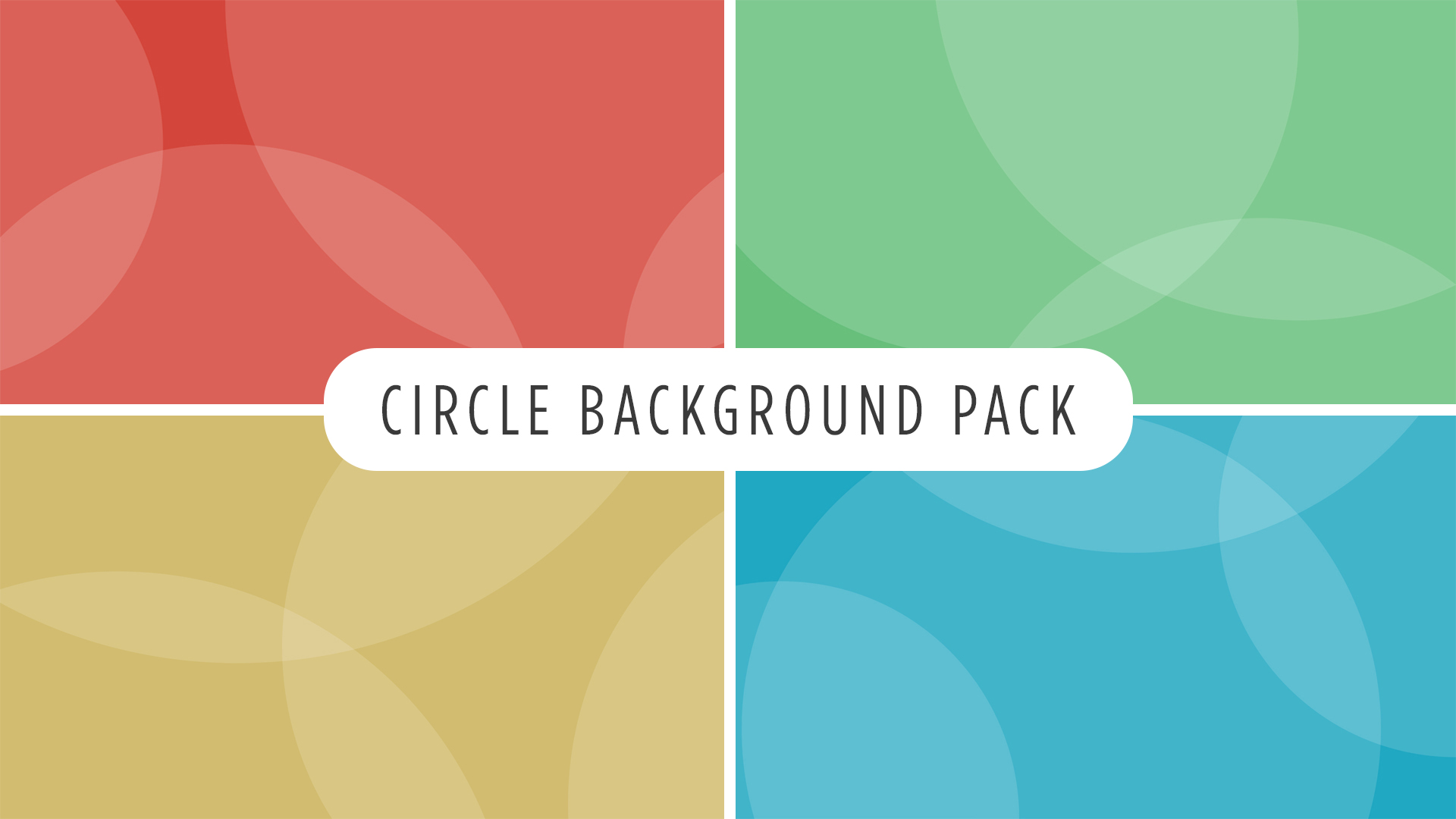 Circle Background Pack