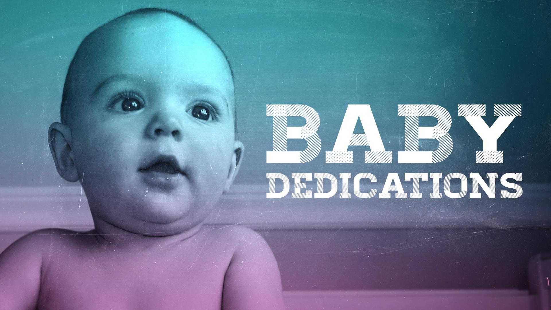 Baby Dedications Slide