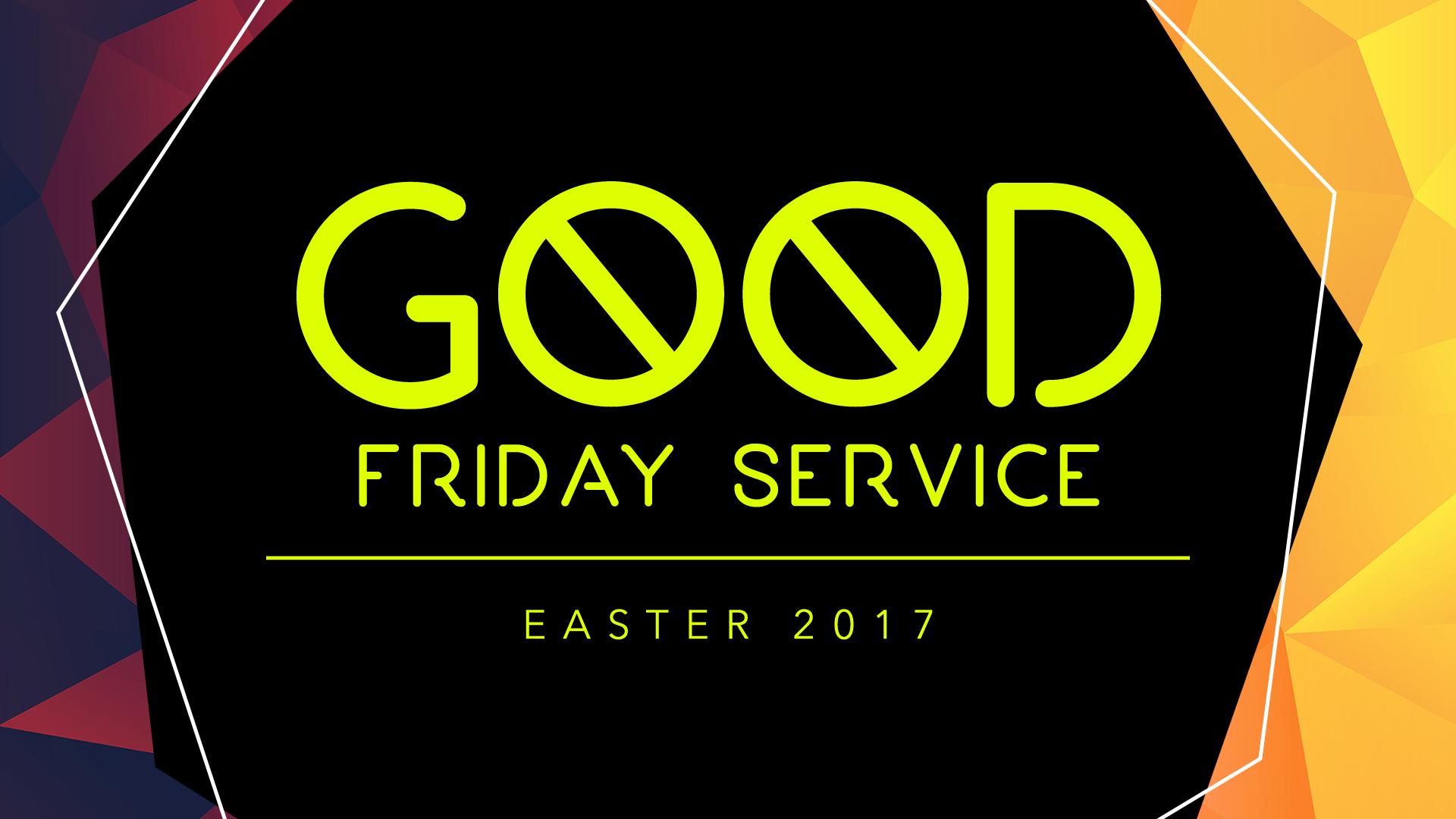 Good Friday Service Graphics