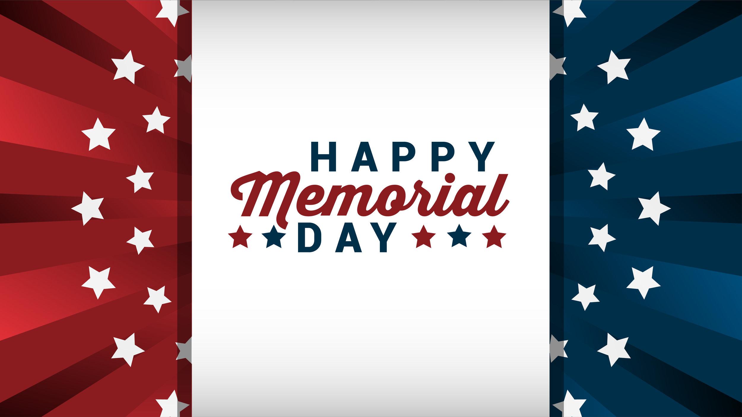 Memorial Day 2017 - Graphics