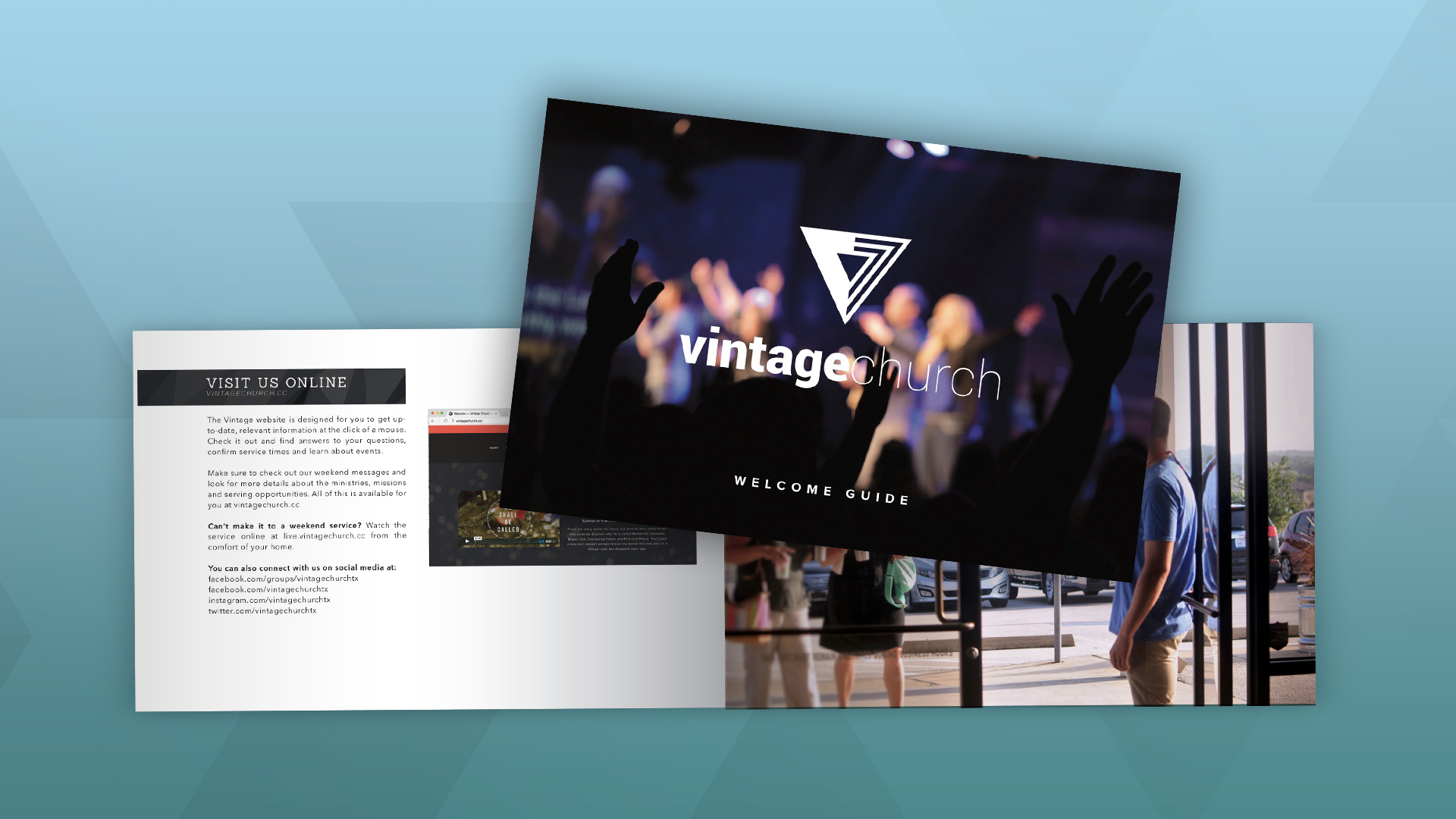 Welcome Booklet - Indesign Template