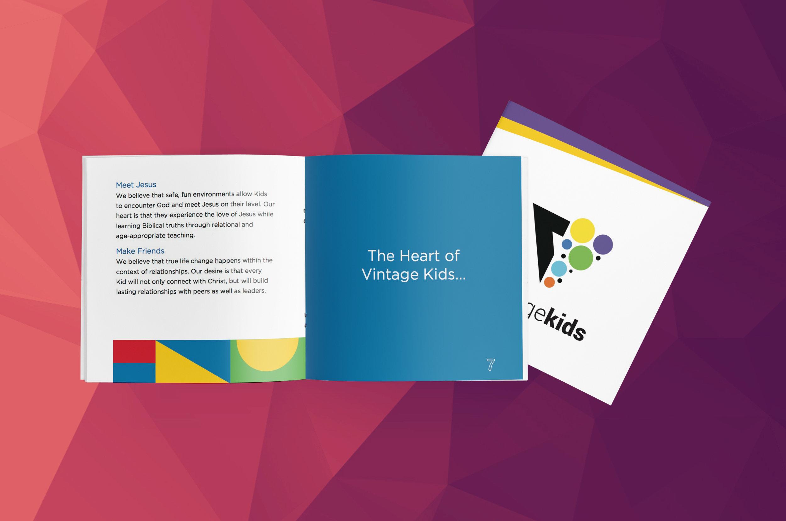 Parent Booklet - Indesign Template