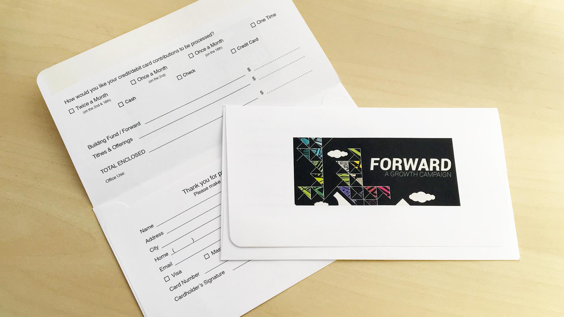 Offering Envelope - Template