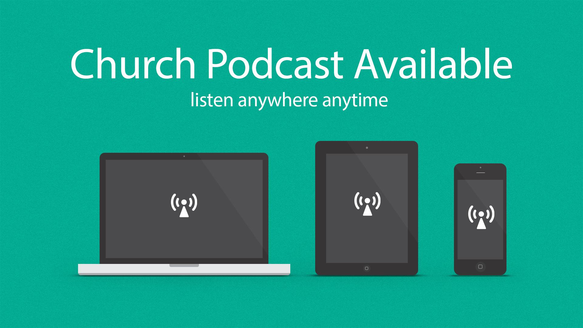 Church Podcast - Graphics