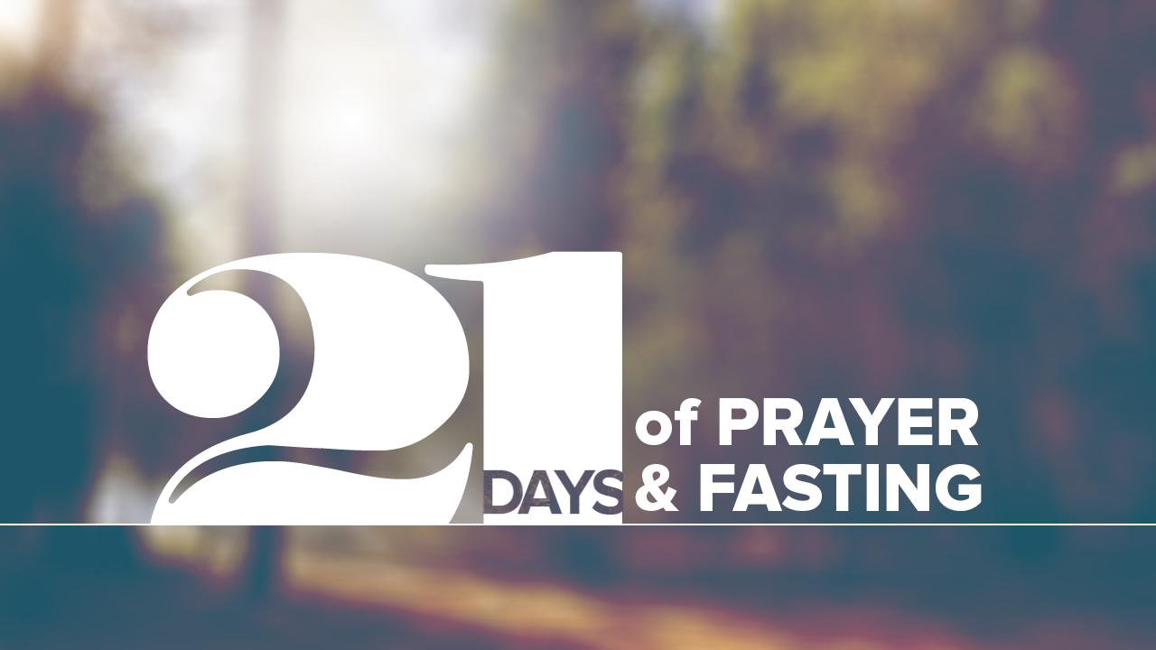 21 Days of Prayer & Fasting - Graphics