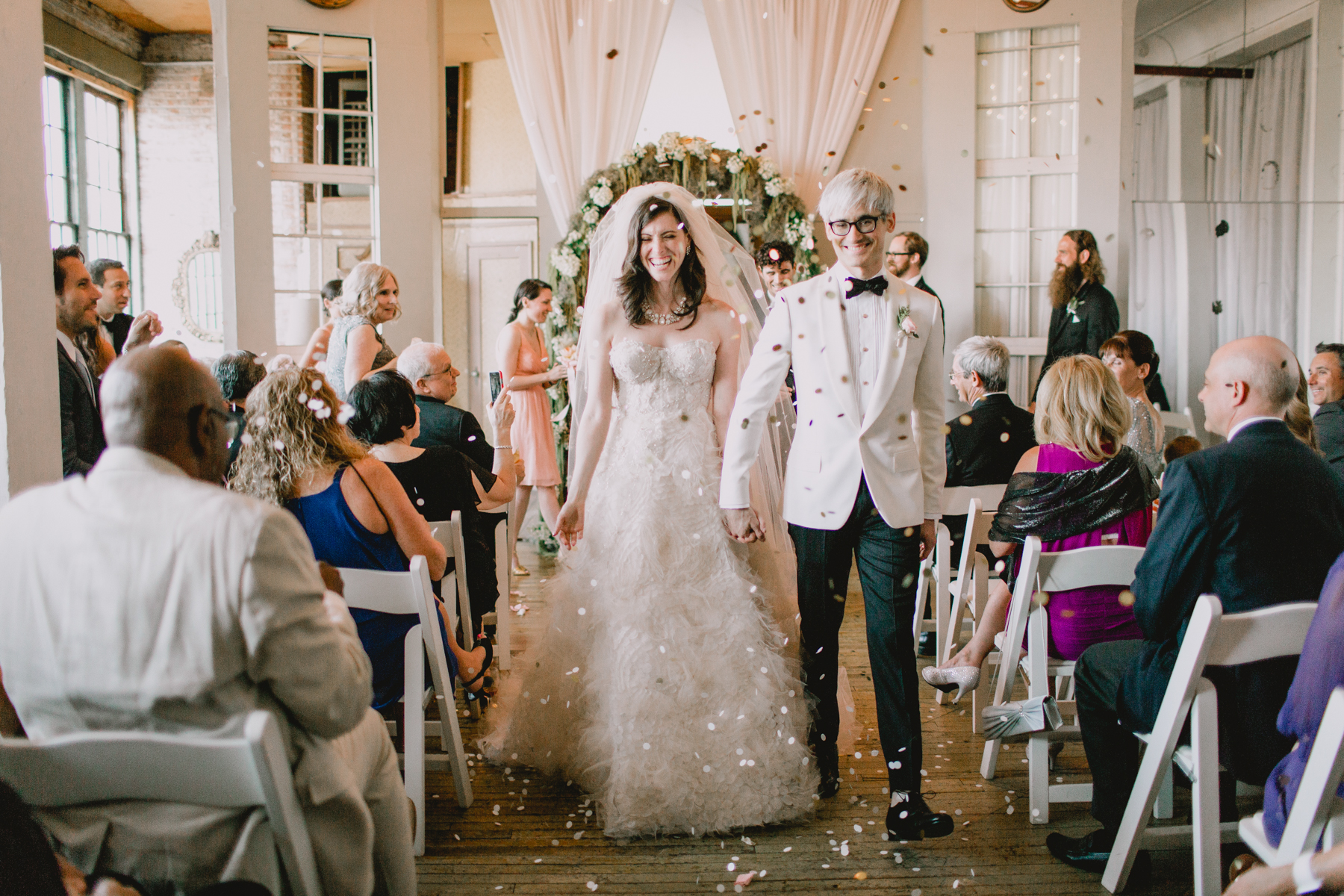 Heather & Justin's Wedding - The Metropolitan Building (New York)