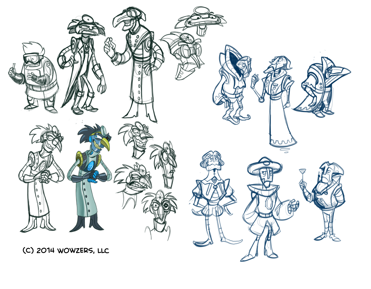 character concepts