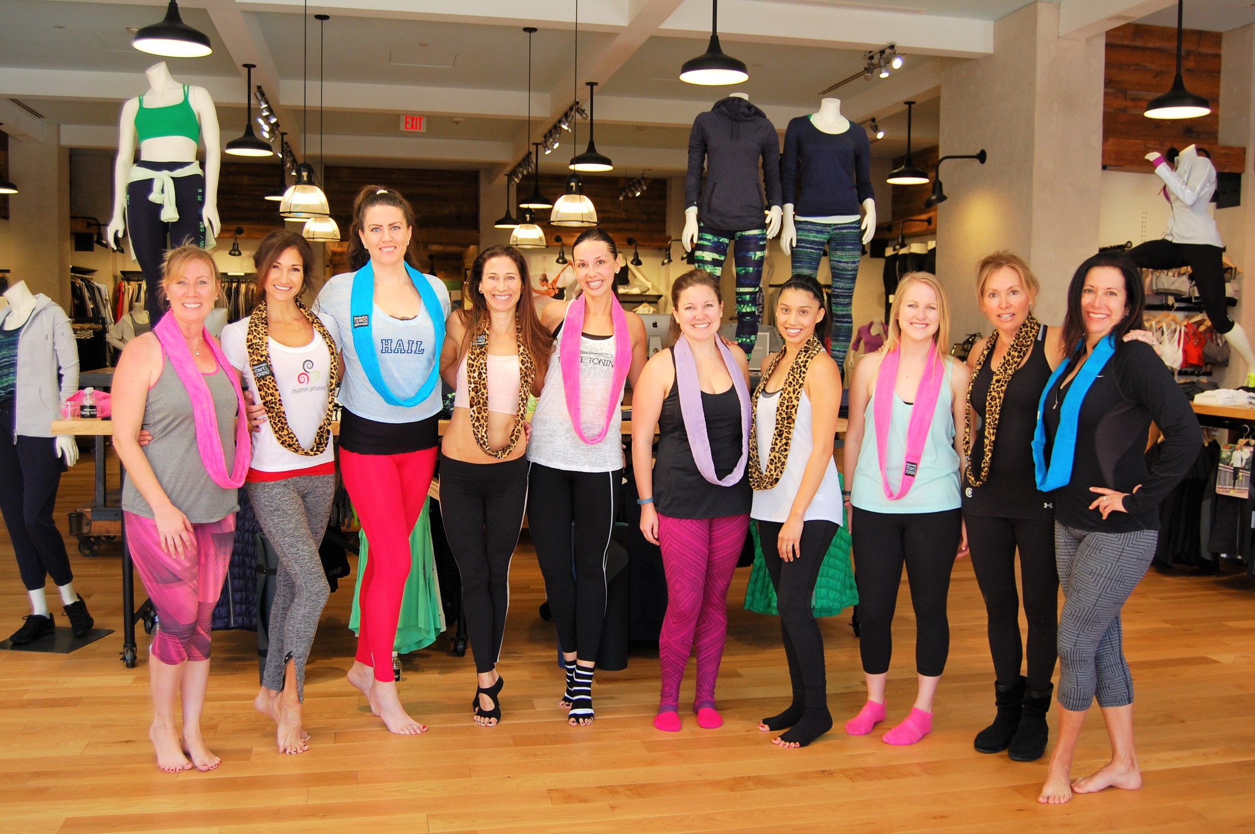 TOWEL TONING® at Athleta, Fashion Island