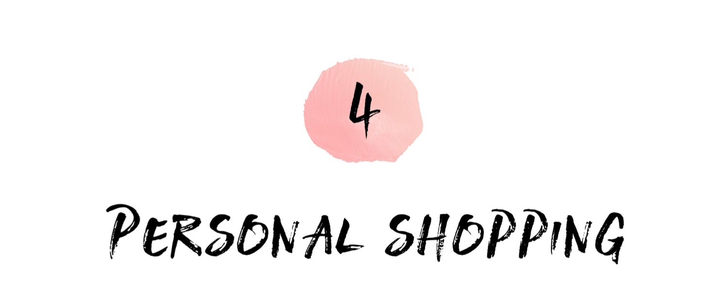 DO SHOPPING MALLS = OVERWHELM? - My goal as your personal shopper is to lessen stress and maximize confidence! By sourcing unique items specific to your style profile and executing efficiently and intentionally, I will help you reclaim and redefine your shopping experience.