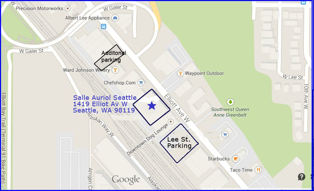 Conveniently located in Interbay at 1415 Elliott Ave W. Seattle, WA 98119