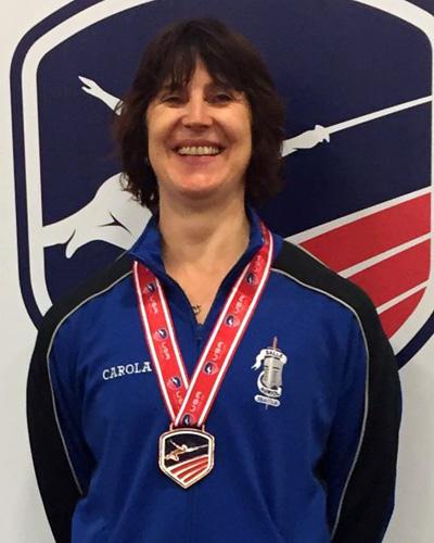 Carola Schmid - Bronze, Vet 50 WE