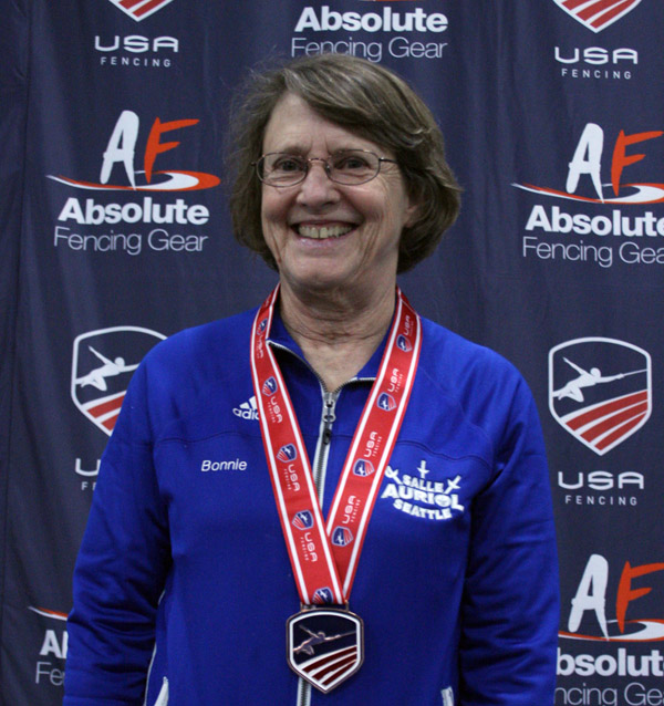 Bonnie Aher - 3rd, V70 WE