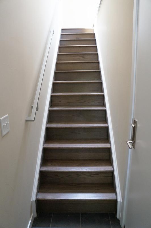 Kinner Built Homes - West 31st Street Development - Stairs
