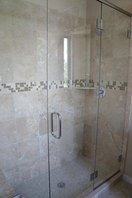 Kinner Built Homes - West 31st Street Development - Bathroom Shower
