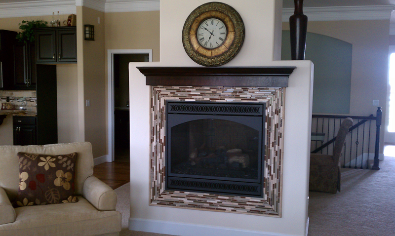 The Hunter's Fireplace Surround