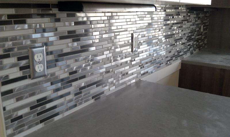 Kinner Built Homes - Kitchen Backsplash -