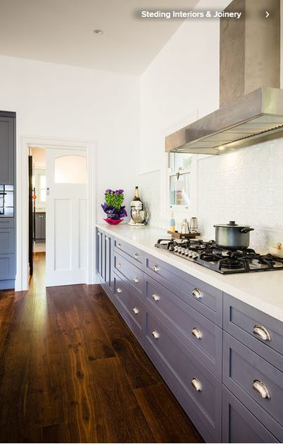Colorful ways to make over your kitchen cabinetry