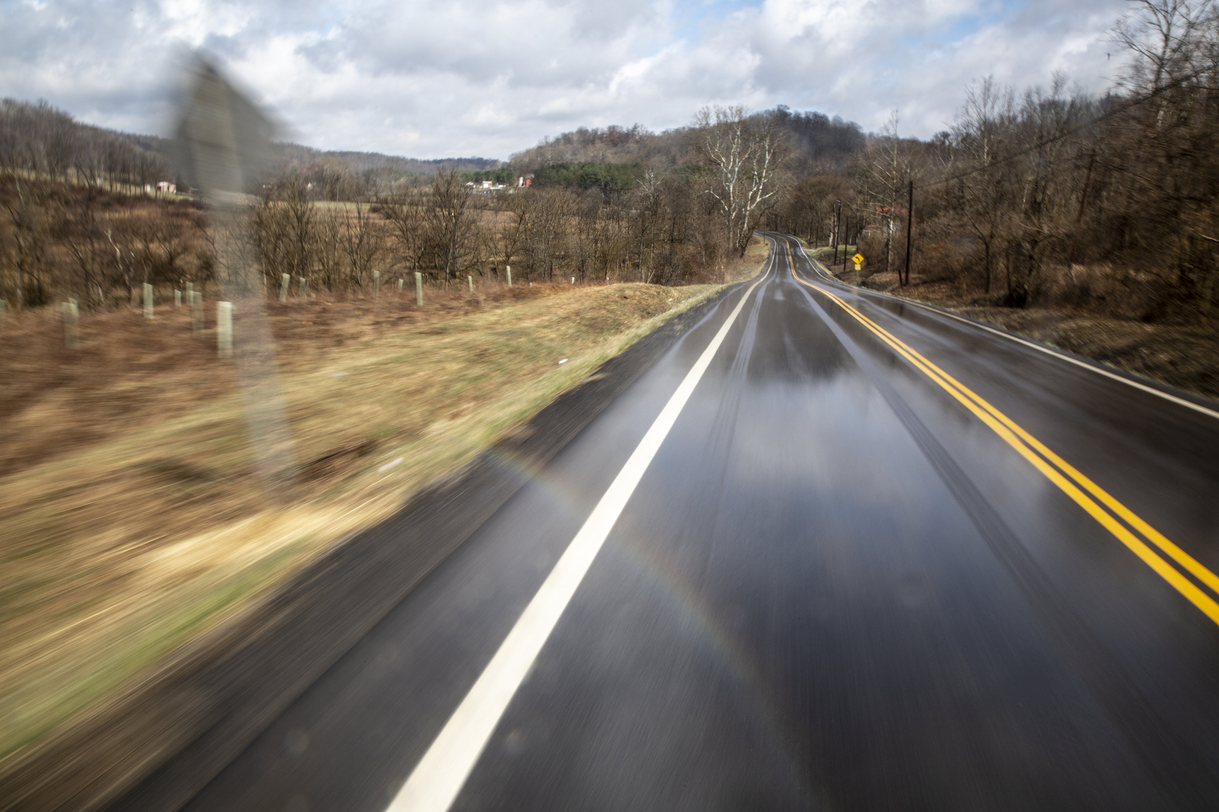 Though the community is cut off from many resources, Ohio State Route 550 runs directly through Sharpsburg, connecting it to Chesterhill, Amesville and the county's largest city: Athens.
