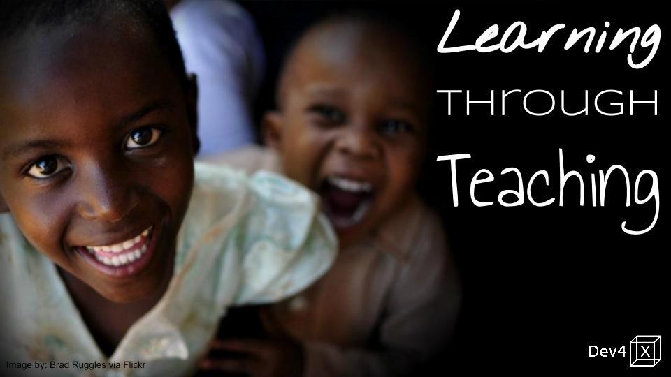 Learning Through Teaching peer-to-peer learning