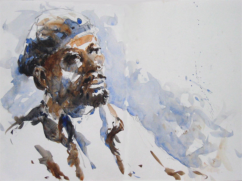 watercolour: 12 x 16 in