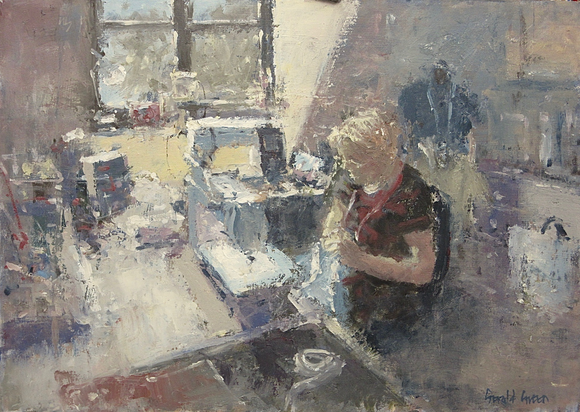 The Sewing Room: 11.75 x 16.5 in: £950