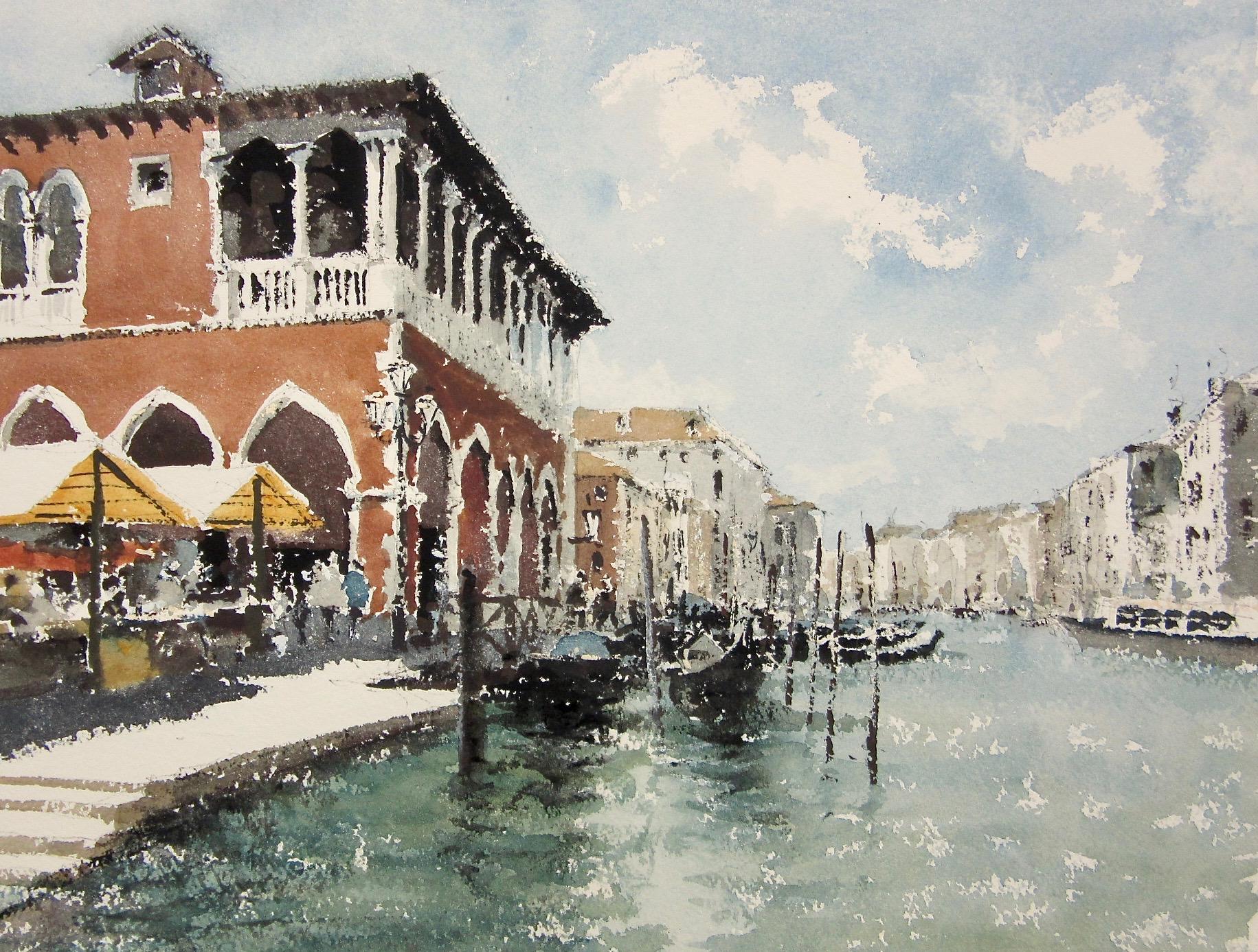 Fondamenta de le Prigioni Venice: 11 x 15.5 in: £750